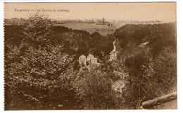 Vallée De La Warche - Rénastène Les Ruines Du Château - Edit. Alexandre Herld, Photographe Camp Elsenborn - 2 Scans - Malmedy