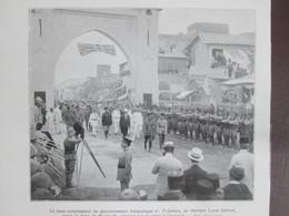 Sir Herbert Louis Samuel Visite La Foire De BEYROUTH LIBAN Syrie - Vieux Papiers