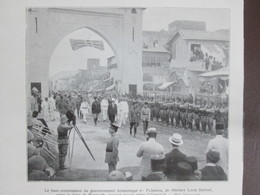 Sir Herbert Louis Samuel Visite La Foire De BEYROUTH LIBAN Syrie - Documentos Antiguos