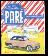 BVD1  Biscottes Paré.  Automobile Simca Elysée Matignon - Biscottes