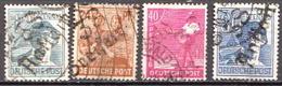 Deutschland Alliierte Besetzung Mit Bezirkshandstempel Bezirk 38 / 4 Marken Mit BPP Signature - Soviet Zone