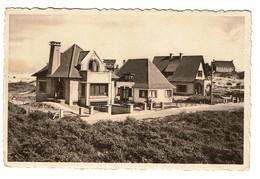 St-Idesbald - Villas Capricio, Les Remparts, Caquehu - Edit. Photo-Ciné Oscar St-Idesbald - 2 Scans - Koksijde
