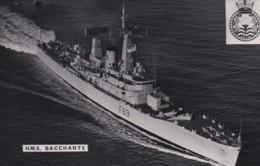 HMS  BACCHANTE - Warships
