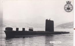 HMS  ORACLE. SUBMARINE - Warships