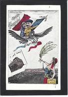 CPA Aviation Aviateur Leblanc Aubrun Caricature Satirique Non Circulé Marianne - Aviateurs