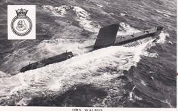 HMS  WALRUS. SUBMARINE - Warships