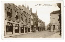 Halle - Gildenhuis / Hal - Maison Des Corporations - Edit. L'Edition Belge - 2 Scans - Halle