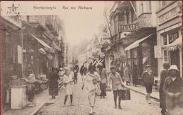 Blankenberge Blankenberghe Rue Des Pecheurs Vissersstraat Geanimeerd ZELDZAAM (In Zeer Goede Staat) - Blankenberge