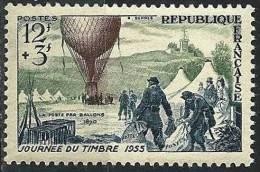 """FR YT 1018  """" Journée Du Timbre """" 1955 Neuf* - Ungebraucht"""