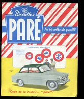 BVD1  Biscottes Paré.  Automobile Skoda 440 - Biscottes