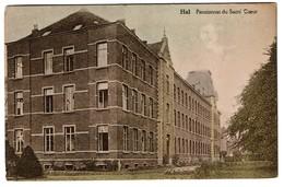 Halle / Hal - Pensionnat Du Sacré-Coeur - Edition Belge - 2 Scans - Halle