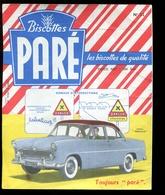 BVD1  Biscottes Paré.  Automobile Simca Versailles - Biscottes
