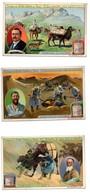 CHROMO Liebig S 947 S947 Voyage De Sven Hedin Au Thibet Tibet 5 Chromos - Liebig