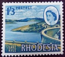Rhodésie Rhodesia 1966 Barrage Dam Yvert 137 ** MNH - Rhodesia (1964-1980)