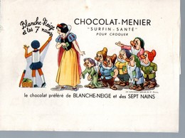 étiquette Ou Emballage CHOCOLAT MENIER (PPP17192) - Advertising