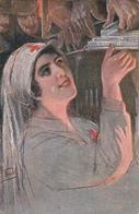 """VECCHI-Illustr-""""CROCE ROSSA ITALIANA"""" Posta Militare-Vg Il 1915-Integra E Originale 100%an2 - Illustratori & Fotografie"""