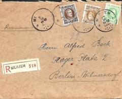 TP 196, 203 + 209  L. Rec.  Merxem> Berlin  1927 - 1922-1927 Houyoux