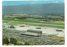 Schweiz - Geneve Cointrin Airport - Aerodrom - Avion - Flughafen - Aeroporto - Swissair - Plane - Aerodrome