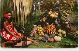 TAHITI LES DELICIEUX FRUITS DE TAHITI VAHINEE COMPRISE !!! - Tahiti
