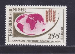 NIGER N°  119 ** MNH Neuf Sans Charnière, TB (D8637) Campagne Mondiale Contre La Faim - 1963 - Niger (1960-...)