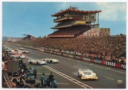 72 LE MANS - 14- Edts  Artaud - Les 24 Heures Du Mans. Le Départ Des Voitures. - Le Mans