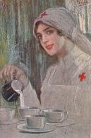 """VECCHI-Illustr-""""CROCE ROSSA ITALIANA"""" Posta Militare-162° Regg.M.M-1° Batt-Vg Il 1915-Integra E Originale 100%an2 - Illustratori & Fotografie"""