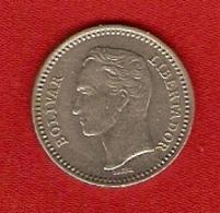 Venezuela 1965 - 25 Centimos - Y 40 - Venezuela