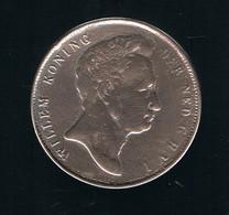 RIJKSDAALDER  21/2  WILLEM  I  1840  FDC  A  SLAG - [ 3] 1815-… : Royaume Des Pays-Bas