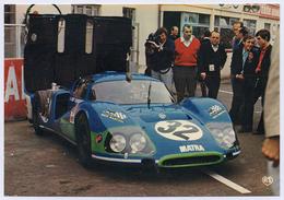 72 LES 24 HEURES DU MANS - 27 - Edts  Artaud - Les 24 Heures Du Mans. Une MATRA Devant Son Stand. - Le Mans
