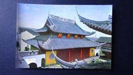 China - Shanghai - Jade Buddha Temple - The Grand Hall - Look Scans - Chine