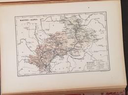 CARTE GEOGRAPHIQUE ANCIENNE: FRANCE: HAUTES ALPES (05) (garantie Authentique. Epoque 19 ème Siècle) - Carte Geographique