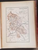 CARTE GEOGRAPHIQUE ANCIENNE: FRANCE: Territoire De BELFORT(90) (garantie Authentique. Epoque 19 ème Siècle) - Landkarten