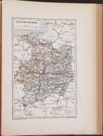 CARTE GEOGRAPHIQUE ANCIENNE: FRANCE: ILLE ET VILAINE (35) (garantie Authentique. Epoque 19 ème Siècle) - Carte Geographique