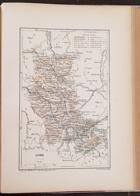 CARTE GEOGRAPHIQUE ANCIENNE: FRANCE: LOIRE(42) (garantie Authentique. Epoque 19 ème Siècle) - Carte Geographique