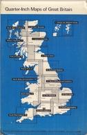ANGLETERRE SUD OUEST (SOUTH WEST ENGLAND) SHEET 15 - CARTE ROUTIÈRE250.000ème - ORDNANCE SURVEY OS - Cartes Routières