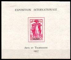 SOUDAN - YT BF N° 1 - Neuf * - MH - Cote: 10,00 € - Soudan (1894-1902)