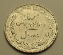 1986 - Iran - Islamic Republic - 1365 - 10 RIALS - KM 1235.2 - Iran
