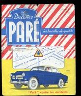 BVD1  Biscottes Paré.  Automobile Volvo - Biscottes