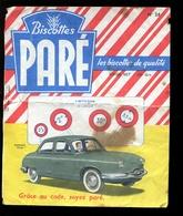 BVD1  Biscottes Paré.  Automobile Panhard Dyna - Biscottes
