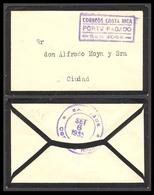 "COSTA RICA. 1935. ( 6 Sept ) San José Local Usage. ""Correos Costa Rica / PORTE PAGADO / SAN JOSE"". Violet Postmark,cds O - Costa Rica"