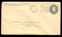 USA. 1908. S.F. / CA - Egypt. 1ct. Green Stat Env. - United States
