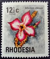 Rhodésie Rhodesia 1974 Fleur Flower Yvert 242 ** MNH - Rhodesia (1964-1980)