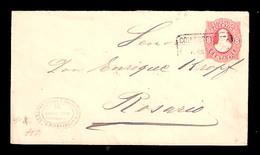 ARGENTINA. 1886. Colonia Esperanza / Rosario. 8c. Stat Env. - Argentine