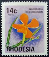 Rhodésie Rhodesia 1974 Fleur Flower Yvert 243 ** MNH - Rhodesia (1964-1980)