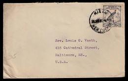 BC - New Guinea. 1938. Kieta / USA. Fkd Env. Fine. (SG 180). - Ohne Zuordnung
