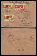 BC - Grenada. 1965. Registered OHMS Multifkg. To South Africa. - Unclassified
