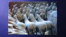 China - Xi'an  - Terra-cotta Horses And Figures - Look Scans - Chine