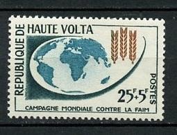 Haute Volta - Obervolta - Upper Volta 1963 Y&T N°108 - Michel N°115 * - 25f+5f Campagne Contre La Faim - Haute-Volta (1958-1984)