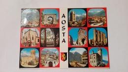 1985 - Aosta - Panoramica - Aosta