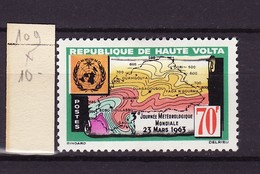 Haute Volta - Obervolta - Upper Volta 1963 Y&T N°109 - Michel N°116 * - 70f Journée De La Météorologie - Haute-Volta (1958-1984)